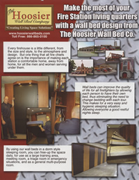 Hoosier Wall Bed Firehouse brochure